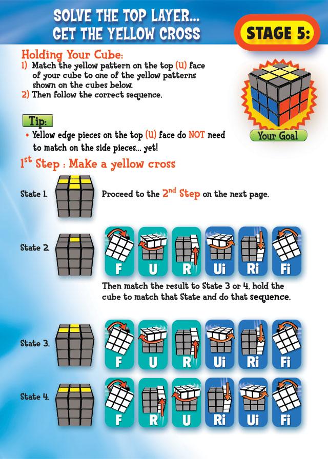Solving a 3*3 Rubik's cube – creativentechno