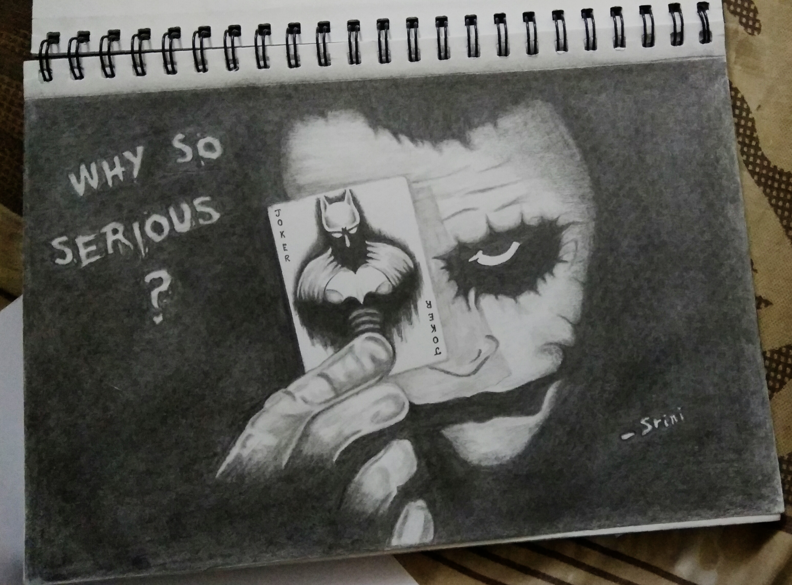 Joker the dark knight creativentechno