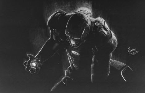 Drawing Ironman – Invertedsketching