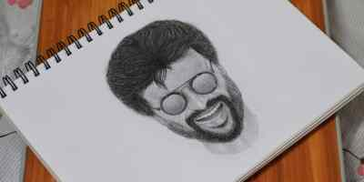 Rajnikanth from Darbar